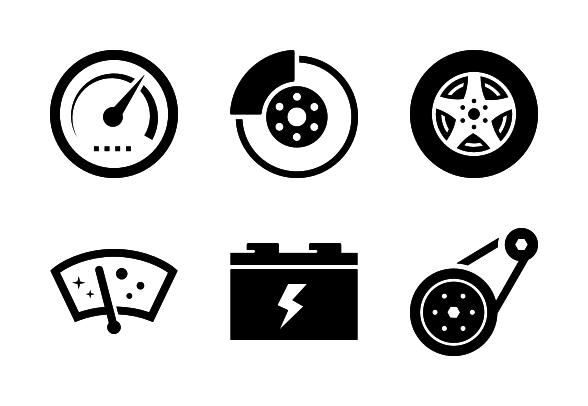 auto-parts-icons